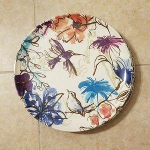 6 beautiful dinner plates